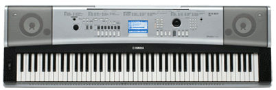 Learning about musical keyboards for Yamaha ypg 535 weighted keys