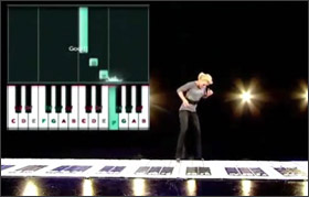 Synthesia on Strictly Come Dancing